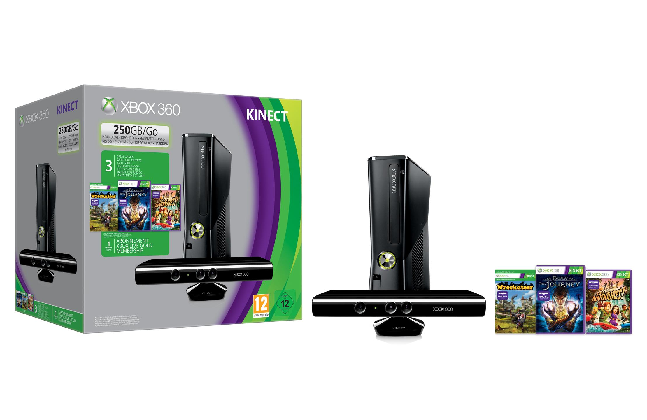 Xbox 360 250gb prezzo due nuove offerte primaverili da for Mediaworld lavatrici slim