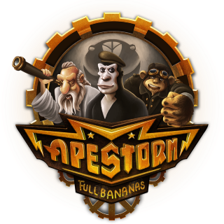 Apestorm Game Logo